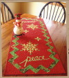 Peace Table Runner