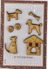 In The Dog House Button Set