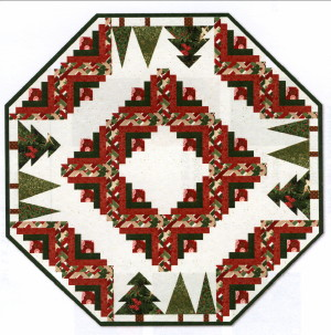 Pinewood Tree Skirt Kit